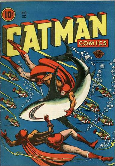 Catman Comics 32-A by Holyoke
