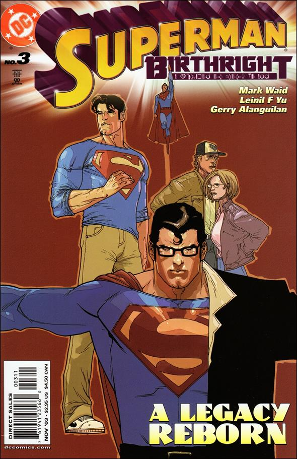 Superman: Birthright 3-A by DC