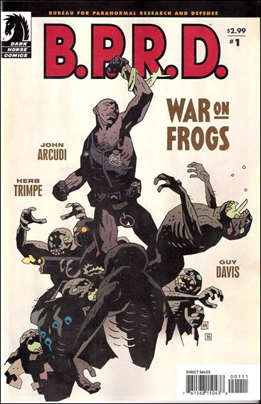 B.P.R.D.: War on Frogs 1-A by Dark Horse