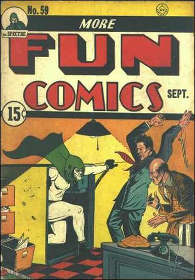 More Fun Comics 59-B by DC