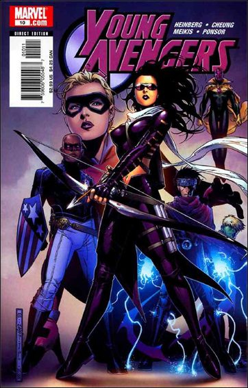 Young Avengers (2005) 10-A by Marvel