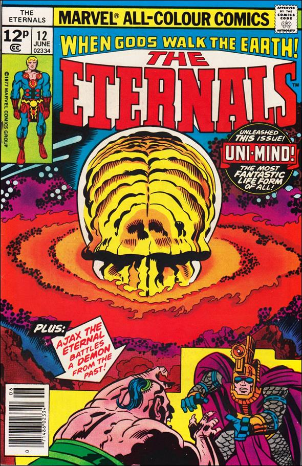 Eternals (1976) 12-C by Marvel