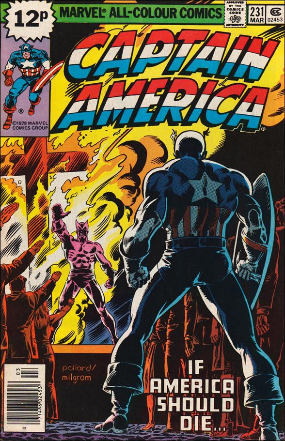 Captain America (1968) 231-B by Marvel