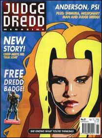 Judge Dredd Megazine (1992) 51-A by Fleetway