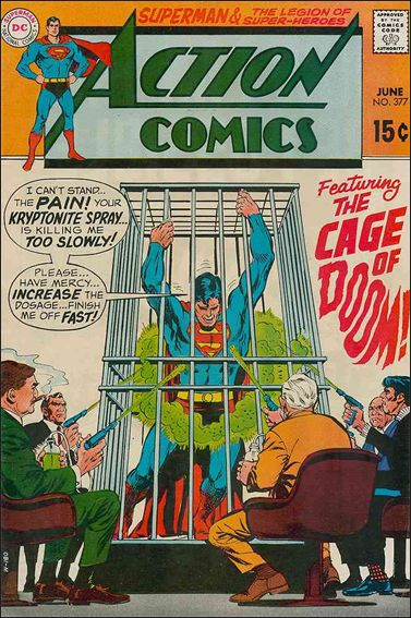 Action Comics (1938) 377-A by DC