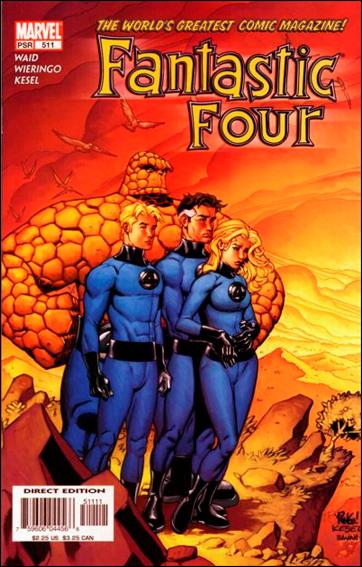 Fantastic Four (1961) 511-A by Marvel