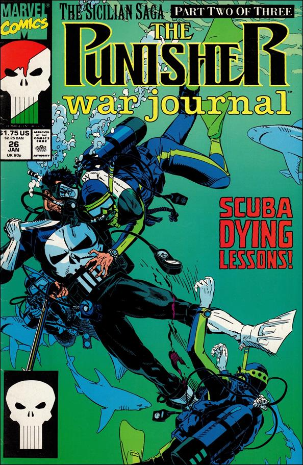Punisher War Journal (1988) 26-A by Marvel
