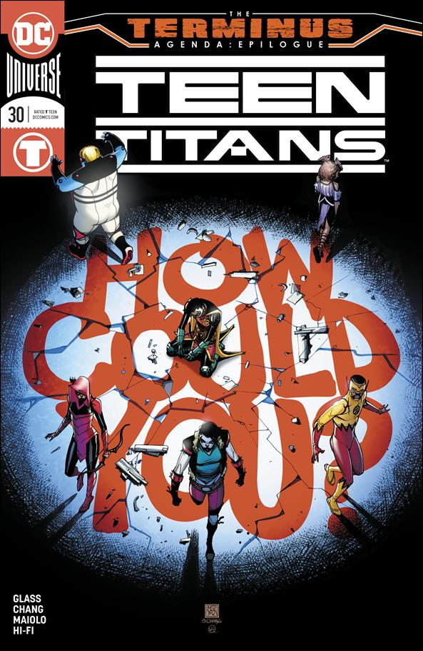 Teen Titans (2016) 30-A by DC