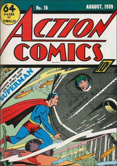 Action Comics (1938) 15-A by DC