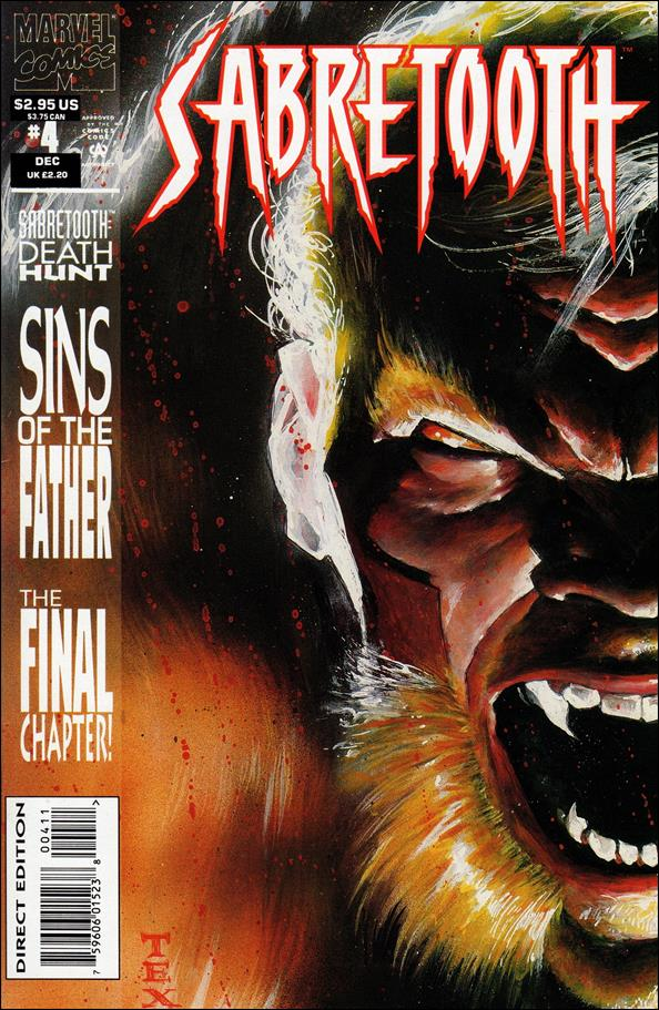 Sabretooth (1993) 4-A by Marvel