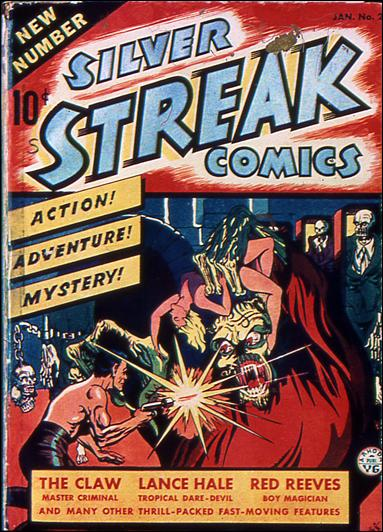 Silver Streak Comics (1939) 2-A by Lev Gleason Productions
