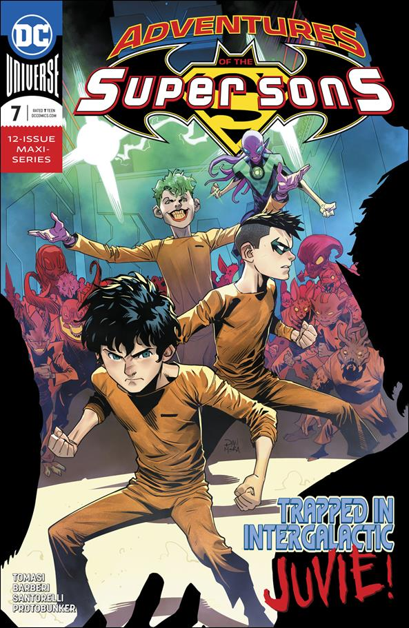 Adventures of the Super Sons 7-A by DC