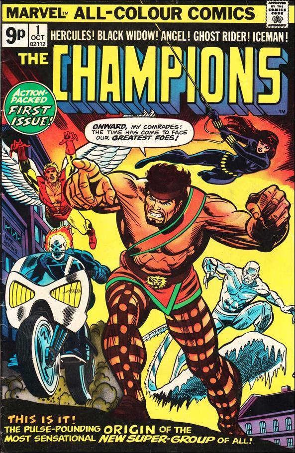 Champions (1975) 1-B by Marvel