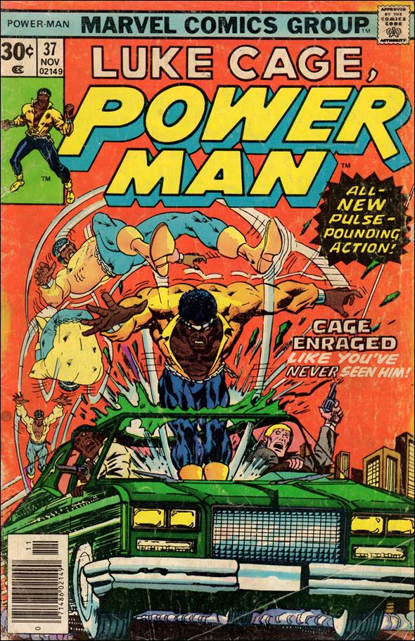 Power Man 37-A by Marvel