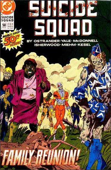 Suicide Squad (1987) 50-A by DC