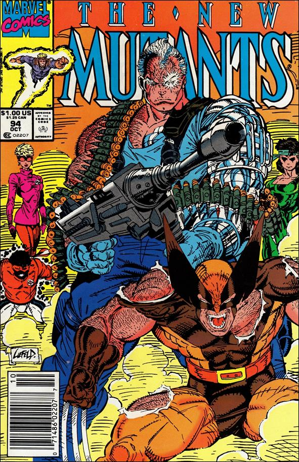 New Mutants (1983) 94-A by Marvel