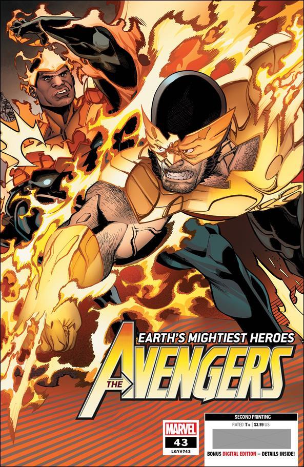 Avengers (2018/07) 43-H by Marvel