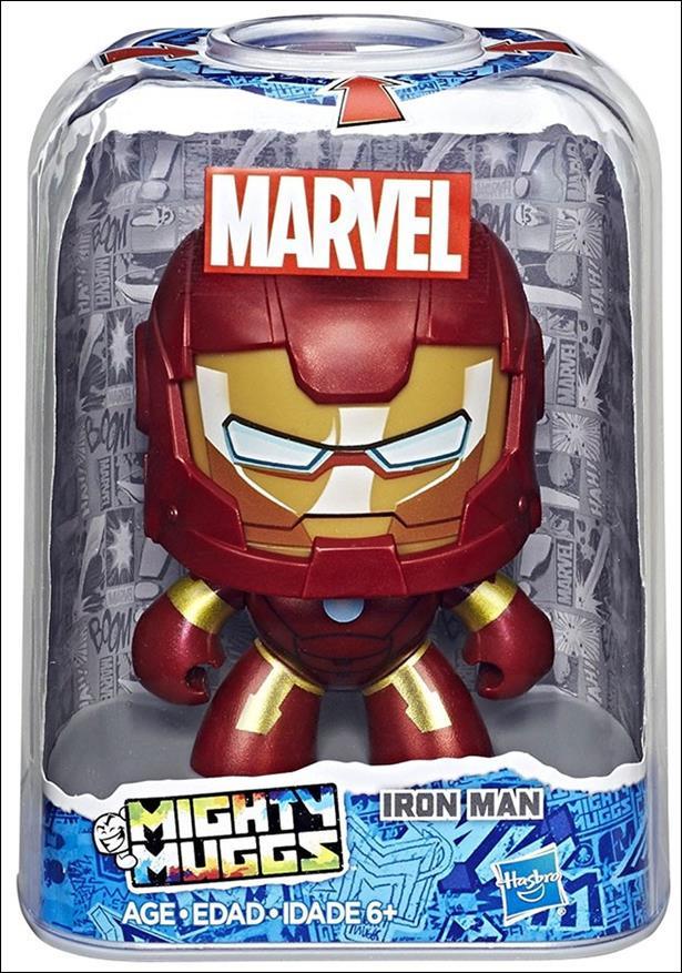 Marvel Mighty Muggs Wave 3 Iron Man by Hasbro