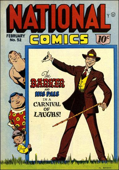 National Comics (1940) 52-A by Quality
