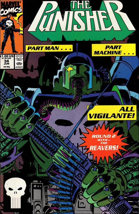 Punisher (1987) 34-A by Marvel