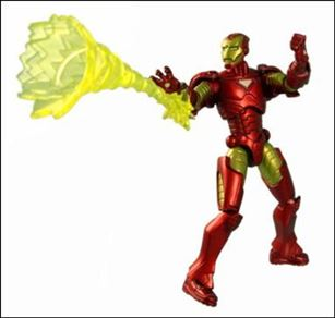 Marvel Universe (Series 1) Iron Man - Loose