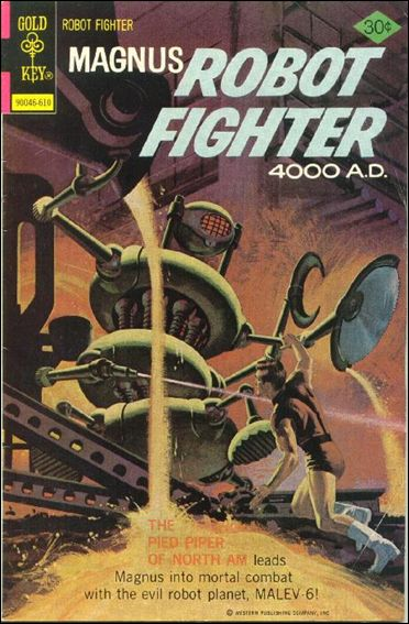 Magnus, Robot Fighter (1963) 45-A by Gold Key