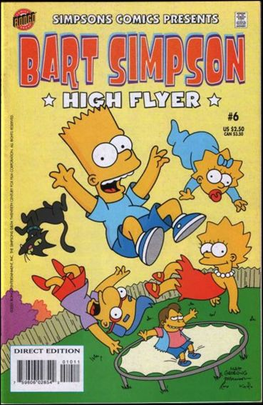 Simpsons Comics Presents Bart Simpson 6-A by Bongo