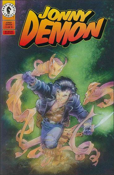 Jonny Demon 1-A by Dark Horse