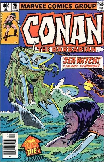 Conan the Barbarian (1970) 98-A by Marvel