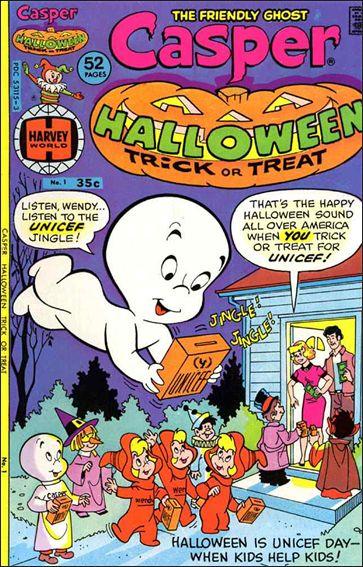 Casper Halloween Trick or Treat 1-A by Harvey