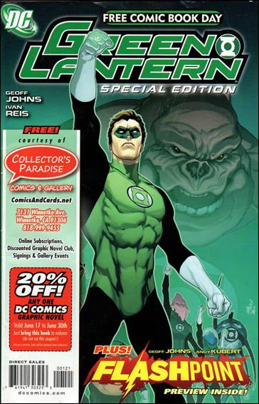 FCBD 2011 Green Lantern Flashpoint Special Edition 1-D by DC