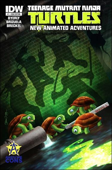 Teenage Mutant Ninja Turtles New Animated Adventures 1-E by IDW
