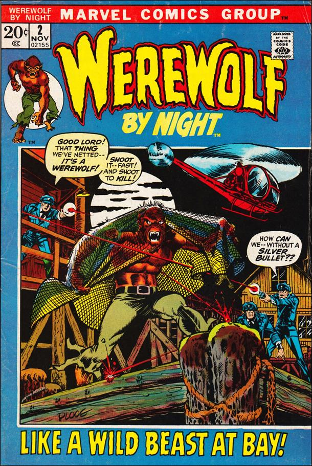 Werewolf by Night (1972) 2-A by Marvel