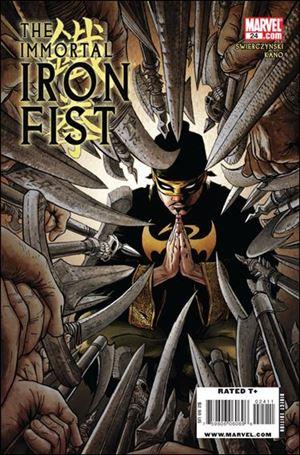 Immortal Iron Fist 24-A