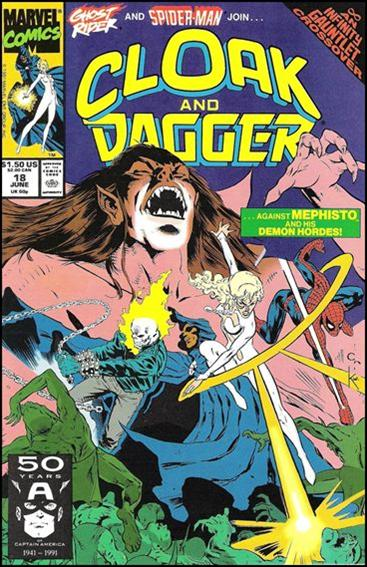 Cloak and Dagger (1990) 18-A by Marvel