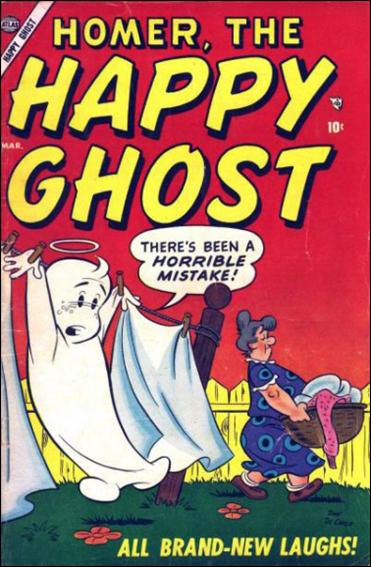 Homer, The Happy Ghost (1955) 1-A by Atlas