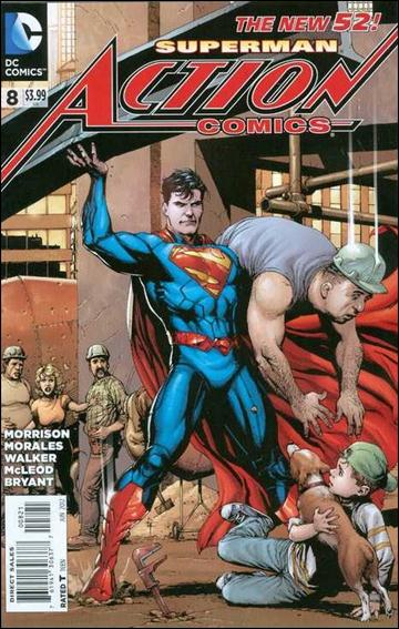 Action Comics (2011) 8-D by DC