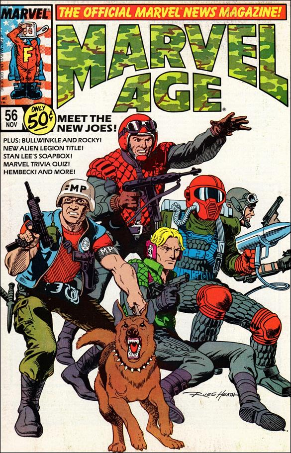 Marvel Age 56-A by Marvel
