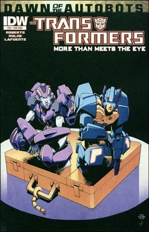 Transformers: More Than Meets the Eye (2012) 32-B