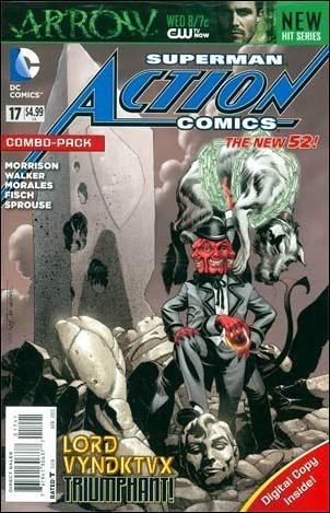 Action Comics (2011) 17-B by DC