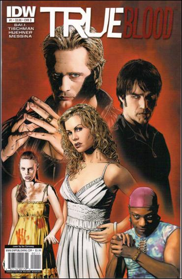 True Blood (2010) 1-D by IDW