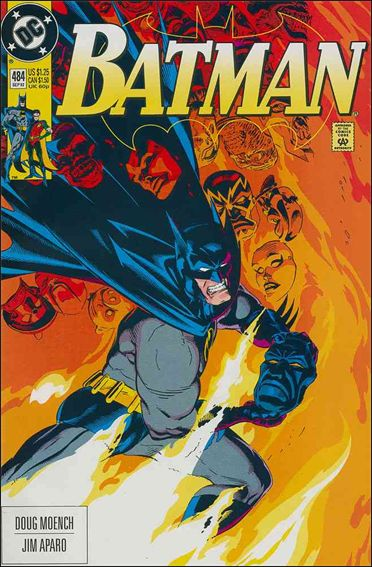 Batman (1940) 484-A by DC