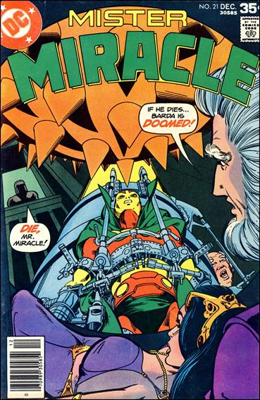Mister Miracle (1971) 21-A by DC