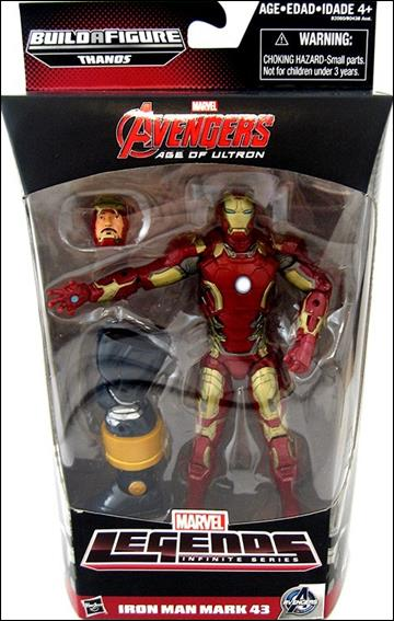 Marvel Legends Infinite: Avengers (Thanos Series) Iron Man (Age of Ultron) by Hasbro