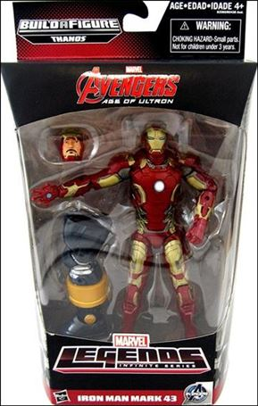Marvel Legends Infinite: Avengers (Thanos Series) Iron Man (Age of Ultron)