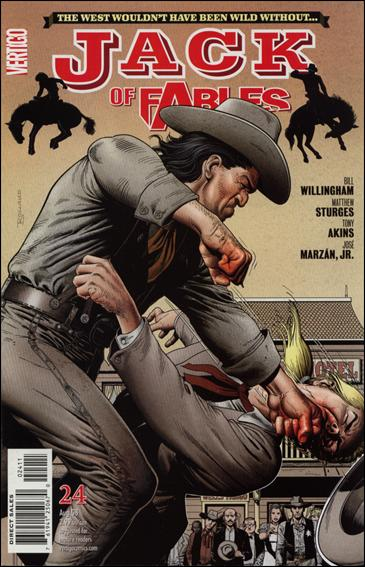 Jack of Fables 24-A by Vertigo