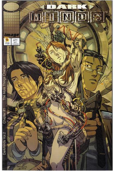 Darkminds (2000) 1-B by Image
