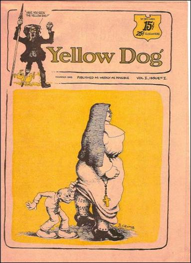 Yellow Dog 1-A by Print Mint