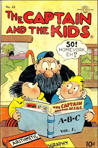 Captain and the Kids  32-A by United Features Syndicate