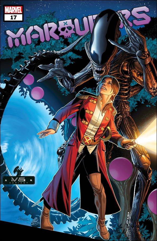 Marauders 17-B by Marvel